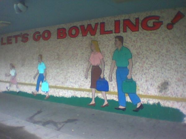 Bowling Mural