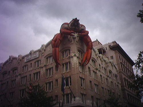 crab invasion