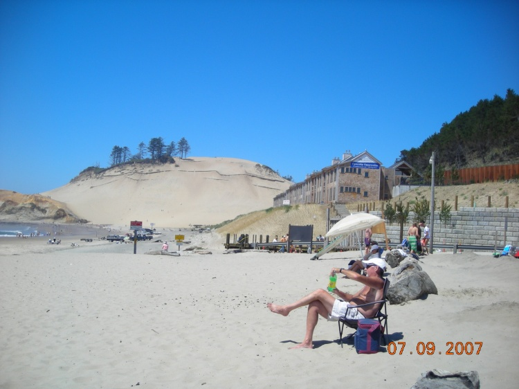 Cape Kiwanda on a Hot Day!