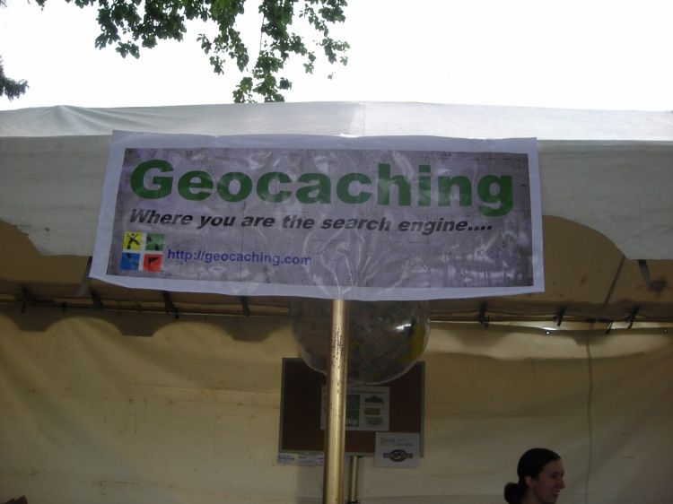 da Vinci Days Geocaching Booth!