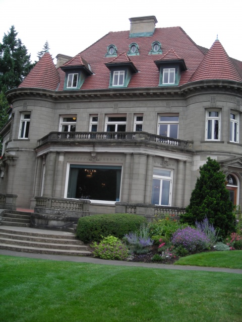 Pittock Mansion...