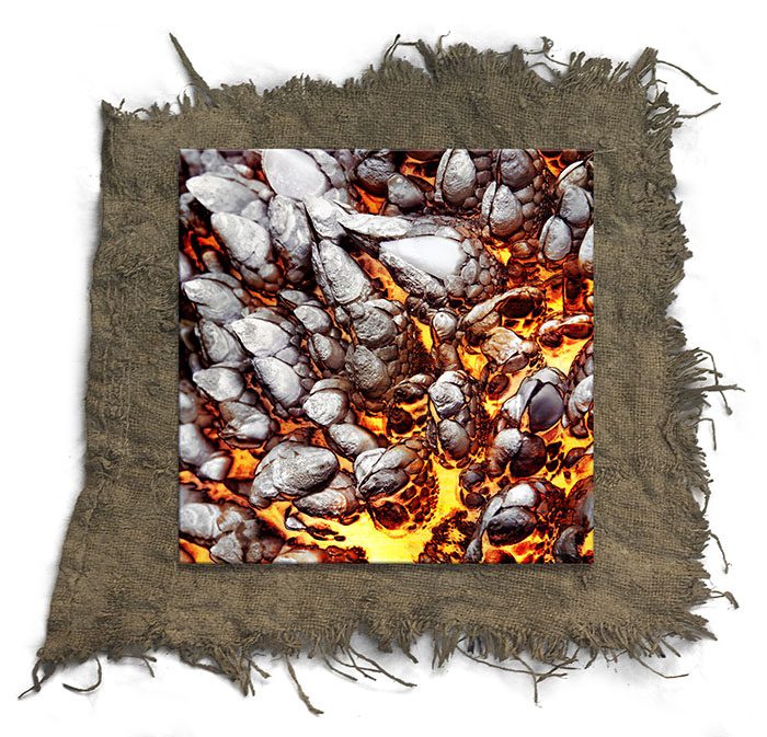 Framed: Pyroclastic Adhesion
