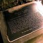 Plaque dedicated to William Ladd