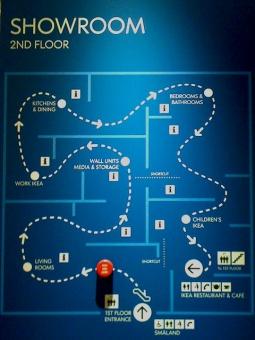 Ikea Store Map