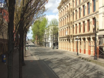 Portland's Old Down Town