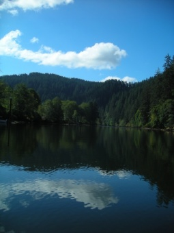 Fishing on The Alsea...