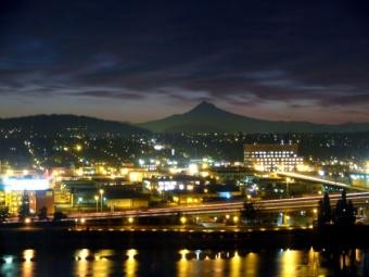 Portland dawn